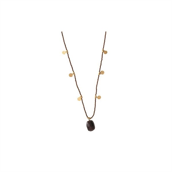Mangolds_BS_Charming_Garnet_Gold_Necklace_€39,95
